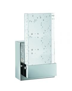 Bubbles Chrome IP44 LED Wall Light