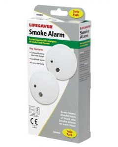 Kidde i9040 Compact Smoke Alarm (Pack of 2)