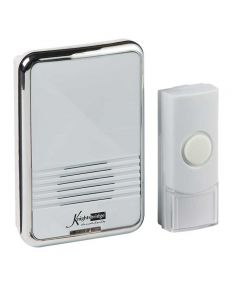 White Plug-in Wireless Door Chime