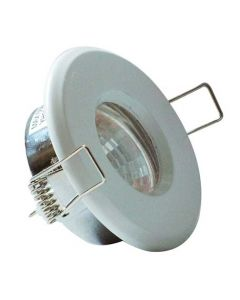 White IP65 GU10 Showerlight