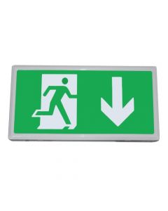 Hispec IP20 5w LED Emergency Exit Box - Universal