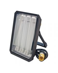 240V Portable Task Light 3X24W PLL 3M c/w Lamp