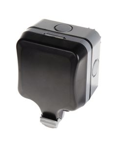 BG 1 Gang 13A IP66 Weatherproof Unswitched Socket