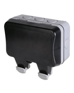 BG 2 Gang 13A IP66 Weatherproof Unswitched Socket