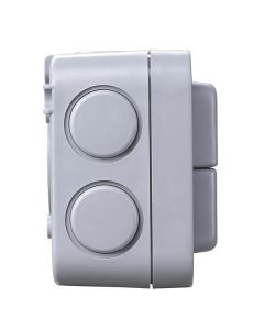BG 2 Gang 2 Way 20Ax IP66 Weatherproof Switch